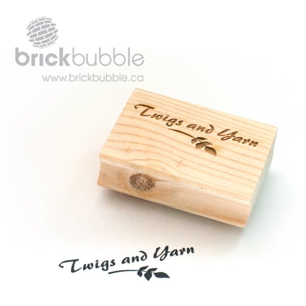 Custom rubber stamps brickbubble for Custom craft rubber stamps