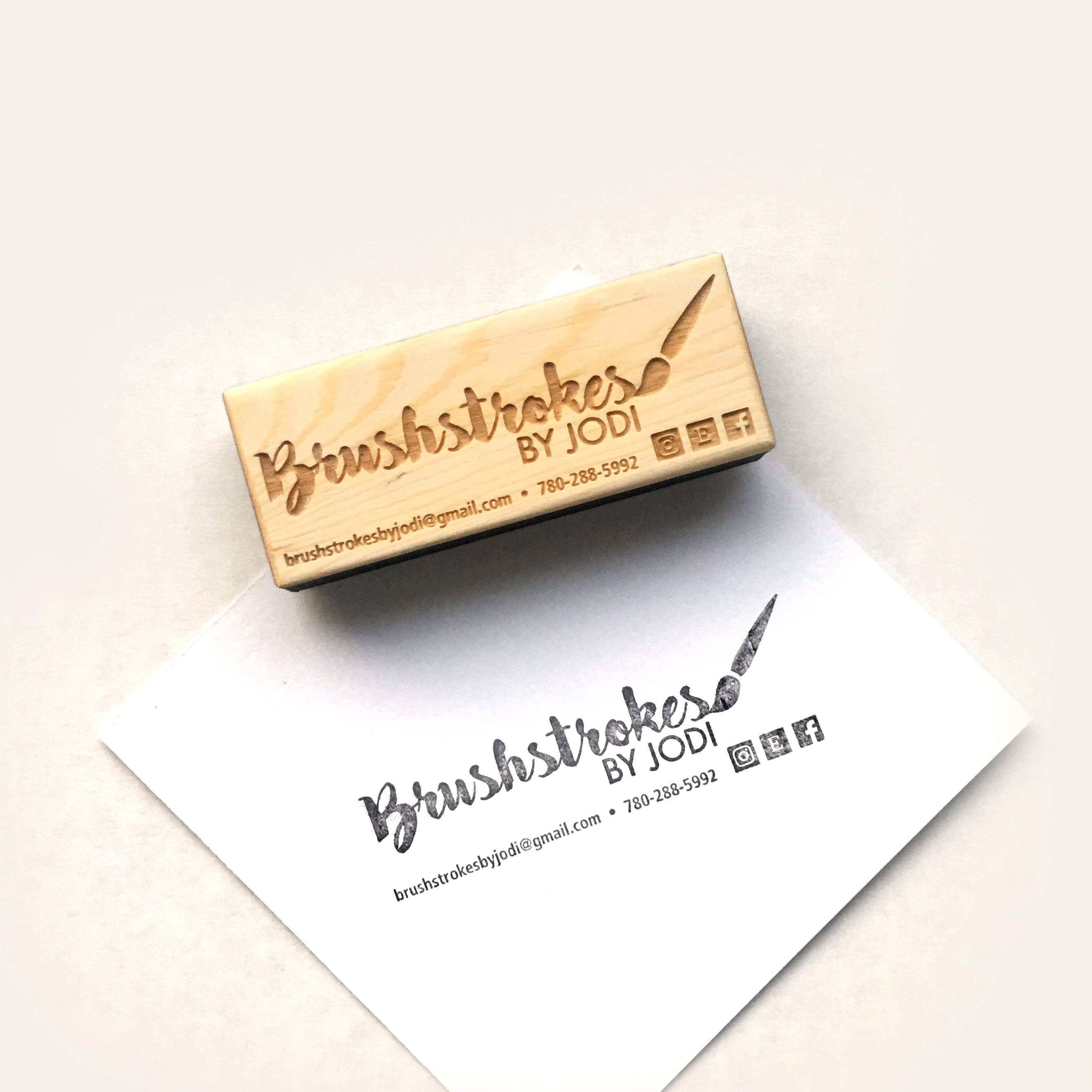 Custom Rubber Stamps Brickbubble