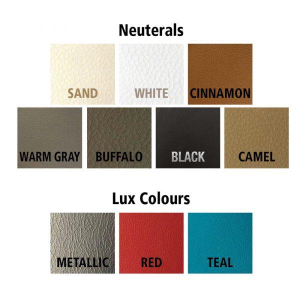 faux leather colours
