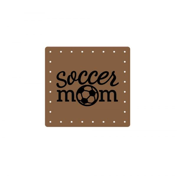 soccer, mom, patch